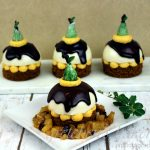 Pear Gingerbread Custard Cakes