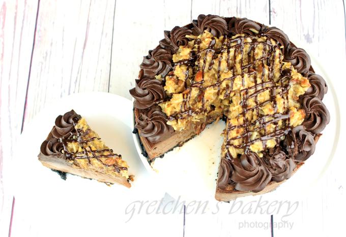 Vegan Geman Chocolate Cheescake