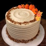 Pumpkin Cake with Pumpkin Spice Buttercream