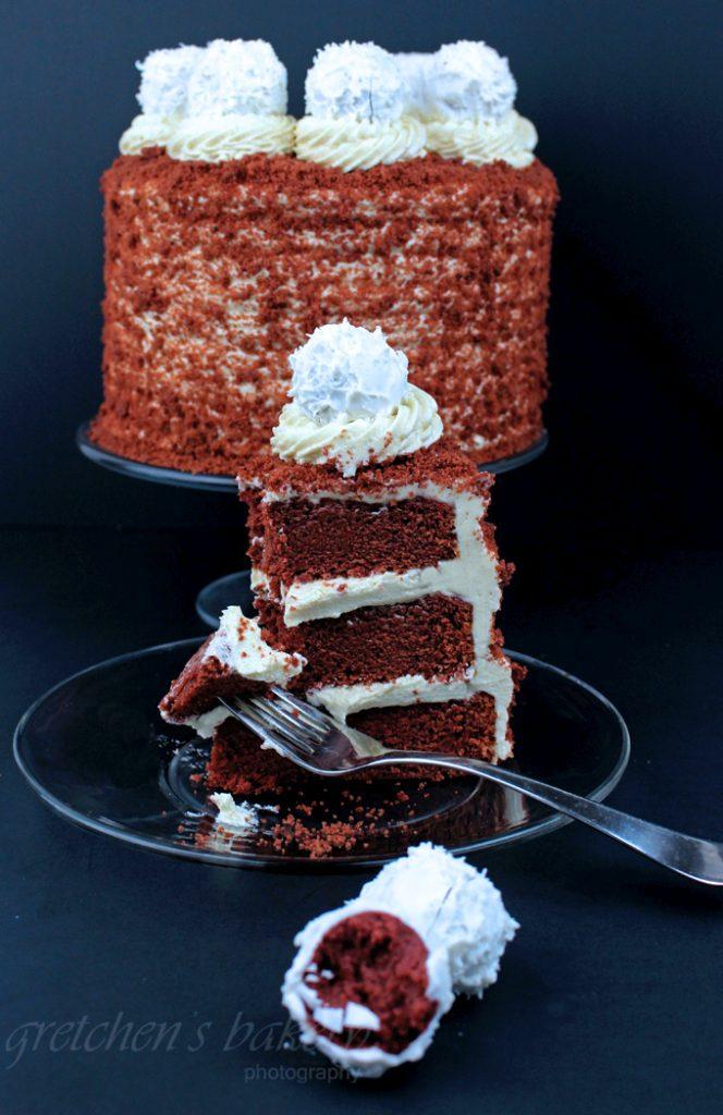 No Dye Red Velvet Cake! Vegan