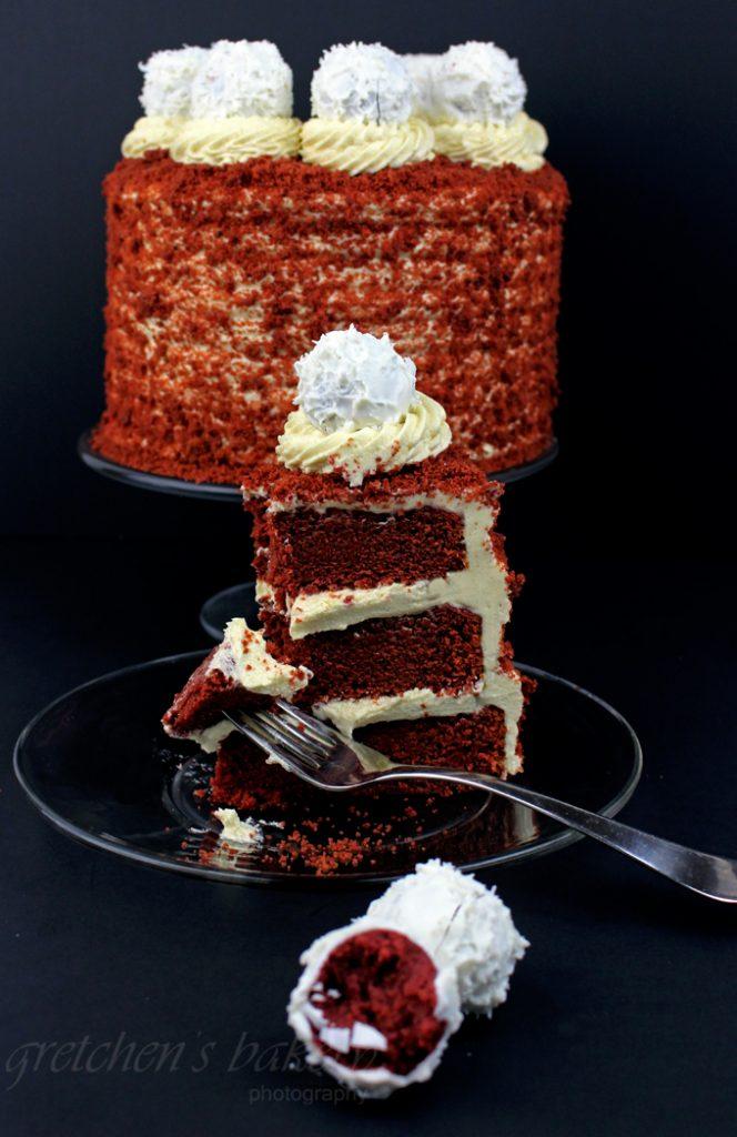 No Dye Red Velvet Cake!