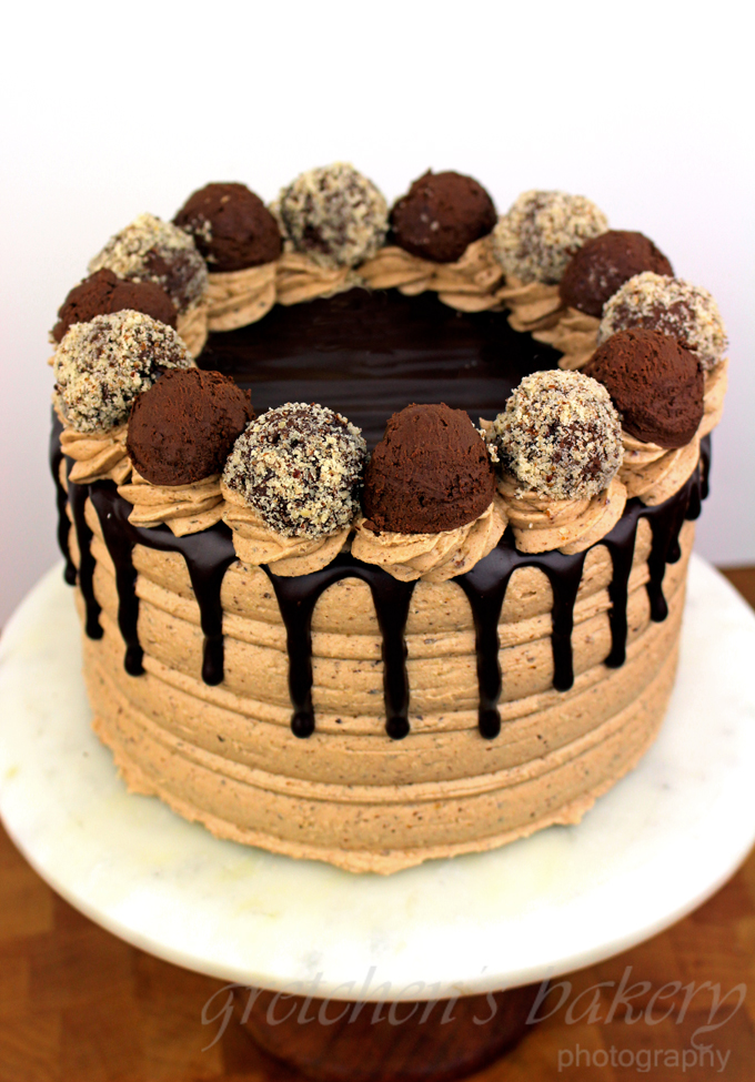 Hazelnut Sponge Cake