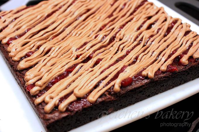 Cranberry Mocha Fudge Brownies