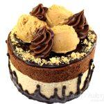Vegan Peanut Butter Mousse Cake