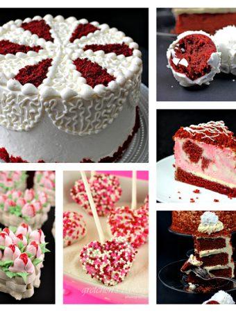6 Ways to Red Velvet Cake for Valentine's Day