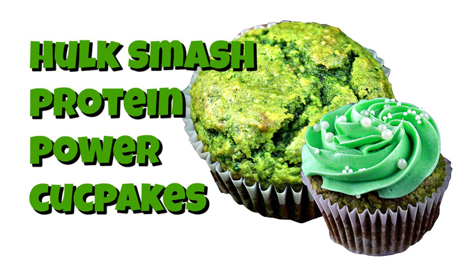 Hulk Smash Power Muffins!