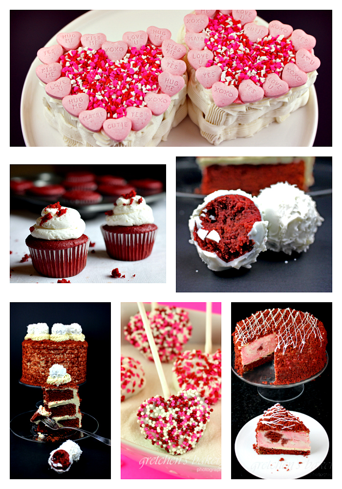 6 Ways to Red Velvet Cake for Valentinie's Day