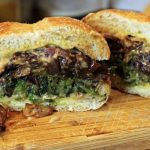 Welsh Rarebit Broccoli Rabe Sandwich