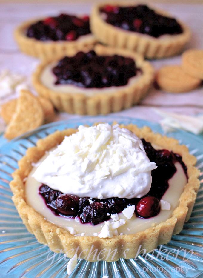 Chocolate Berry Cream Pie