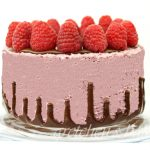 Vegan Raspberry Mousse Cake