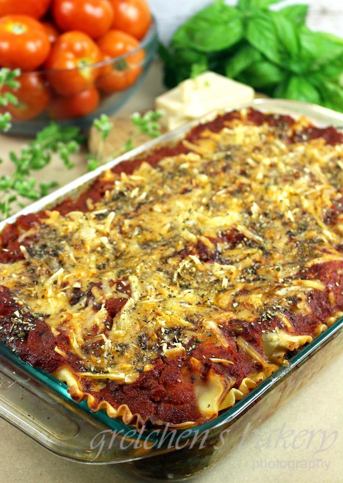 Eggplant Parmigiana Lasagna (Vegan)
