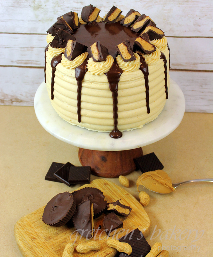 Copy Cat Recipe for Reese's Peanut Butter Cup Cake
