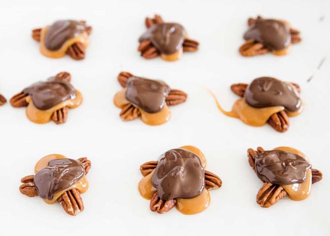 Caramel Turtle Donuts