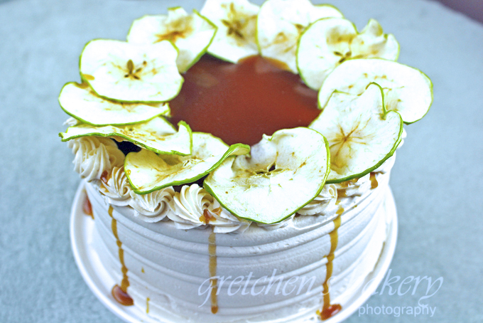 Vegan Caramel Apple Cake