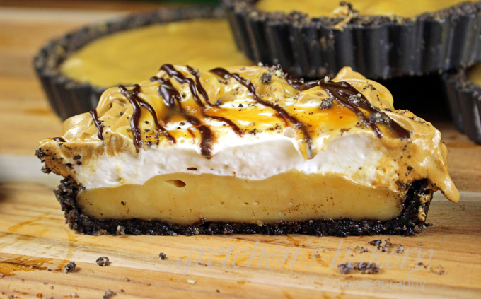 Caramel Macchiato Cream Pie