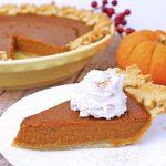 Vegan Pumpkin Pie Recipe