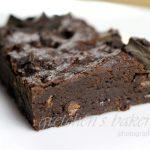 100 Hour vs 1 Hour Vegan Fudge Brownies