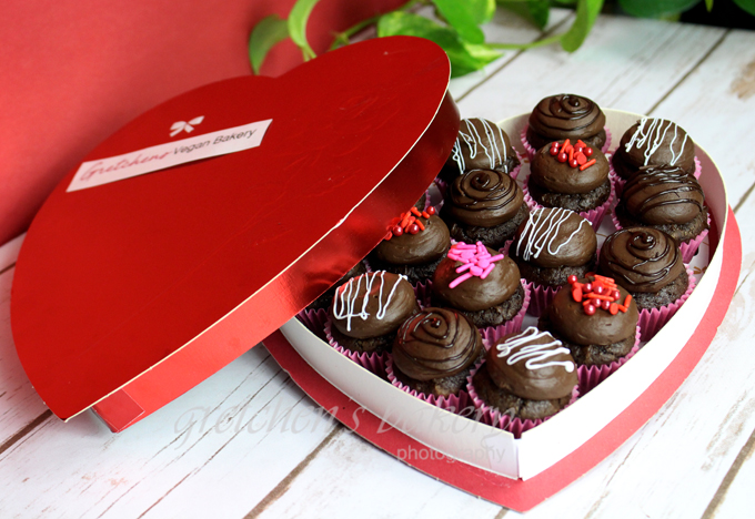 Valentine's Day Box of Assorted Vegan Chocolates