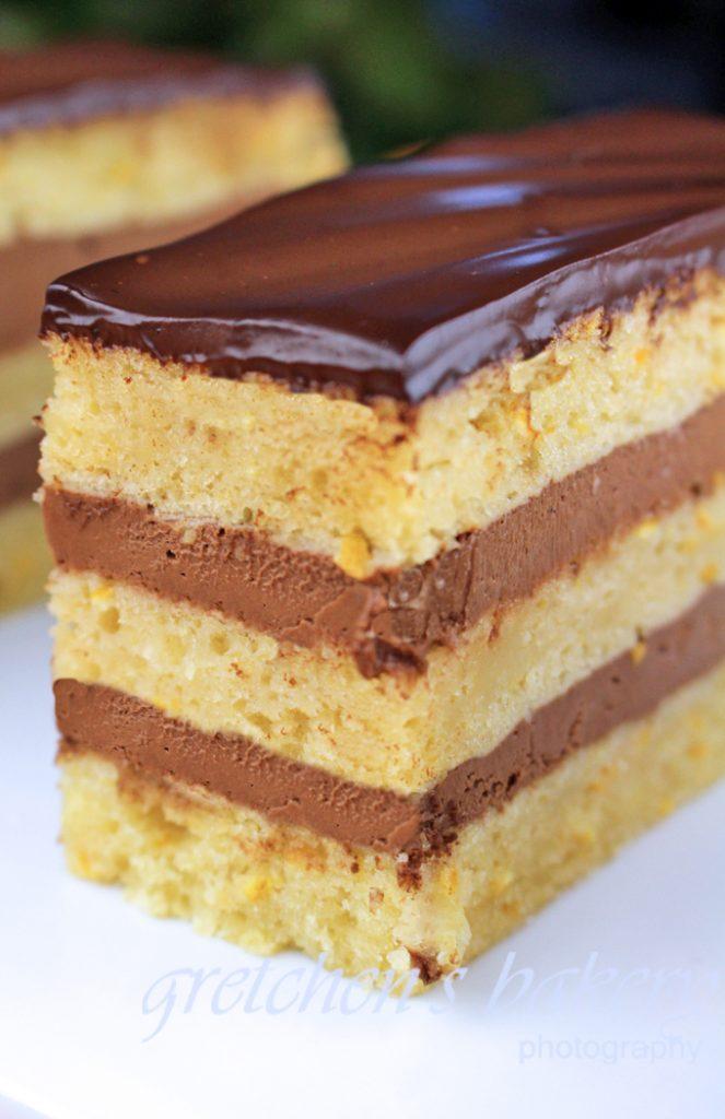 Chocolate Orange Mousse Cake