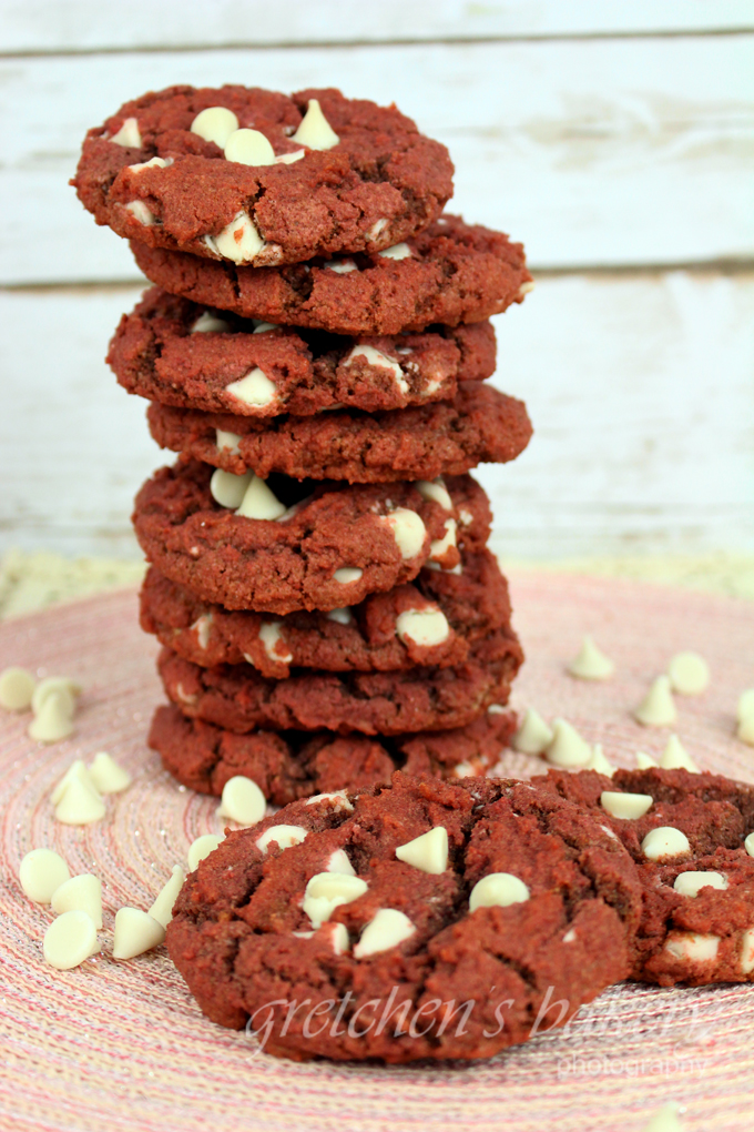 Red Velvet Cookies all natural NO DYE and VEGAN!
