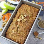 Carrot Apple Cake Bread