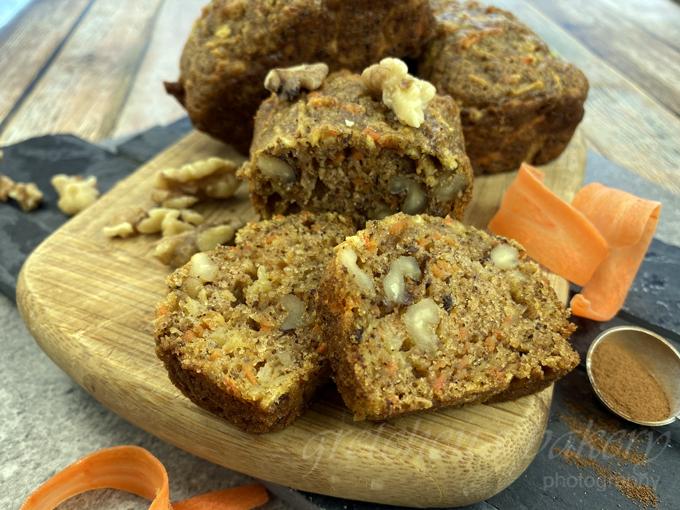 Carrot Apple Cake Bread