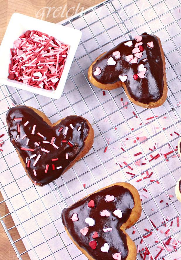 Vegan Boston Creme Donuts