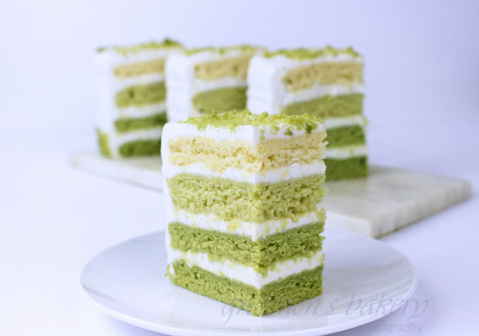 Matcha Cake Recipe ~ Vegan Green Tea Cake