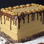 Mocha Cake Recipe - 7 Layer Ombre Cake