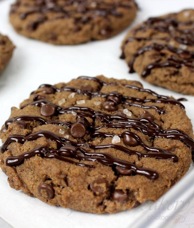 Double Chocolate Chip Cookies~ vegan