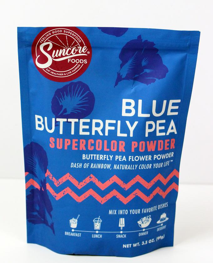 Vegan Crepe Cake ~ Blue Butterfly Pea Flower