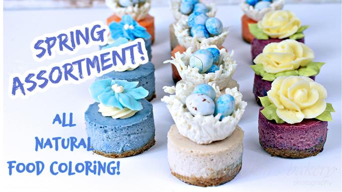 Miniature Vegan Cheesecakes ~ Spr