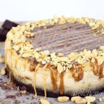 Vegan Snickers Cheesecake