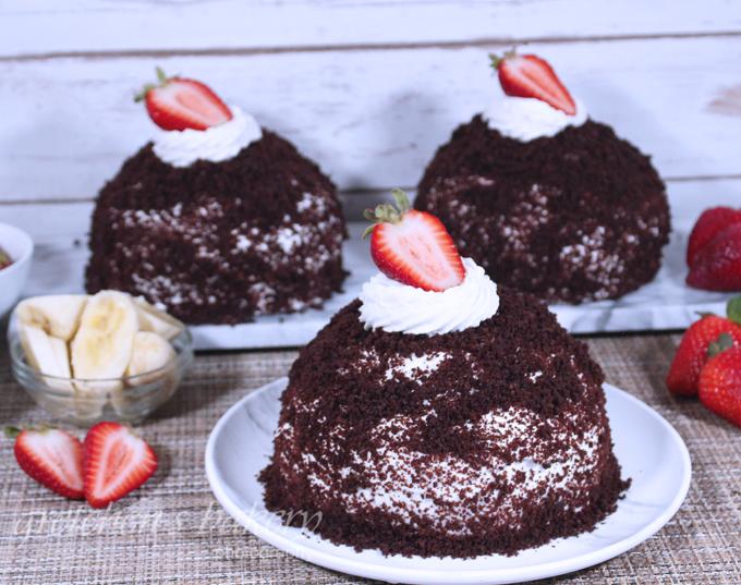 Vegan Brown Derby Cake