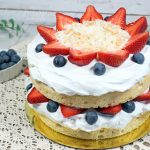 Coconut Strawberry Shortcake