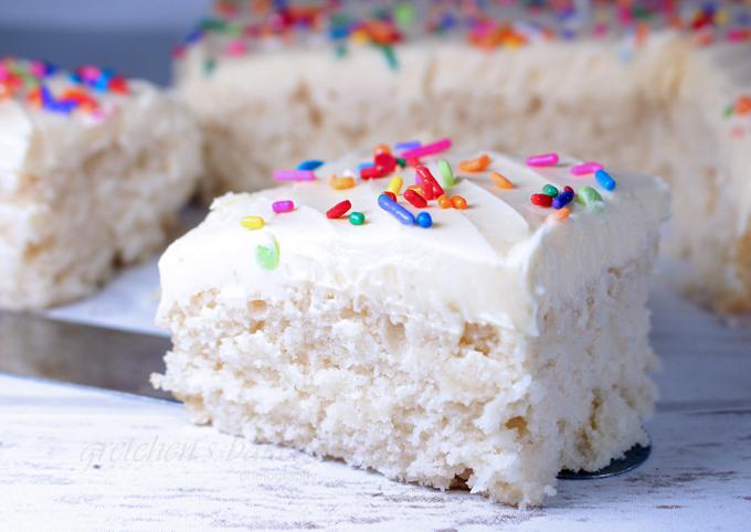 Truly White~ Vegan White Cake Recipe