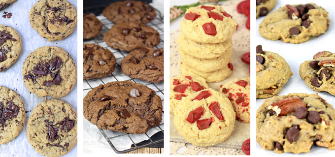 Four Awesome but EASY vegan Cookie Recipes!