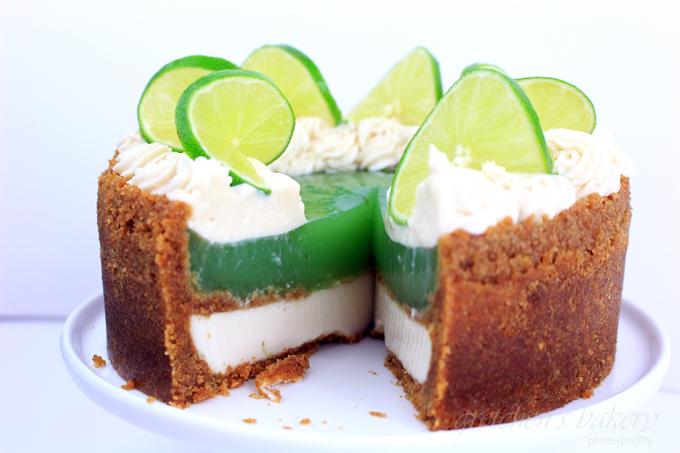 No Bake Key Lime Pie Cheesecake