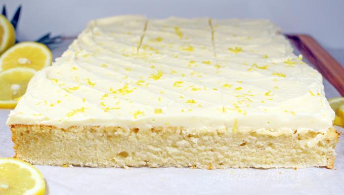 Fluffy Vegan Lemon Cake Recipe