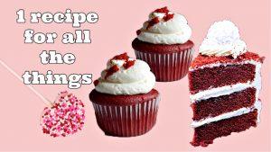 Vegan Red Velvet Cupcakes