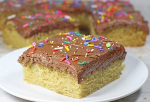 Bakery Recipe for Vegan Yellow Cake