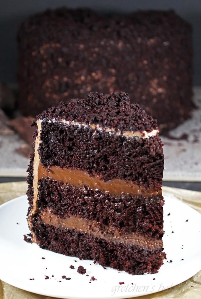 The Ultimate Vegan Brooklyn Blackout Cake