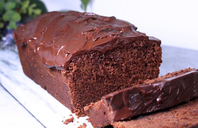 Triple Chocolate Fudge Loaf