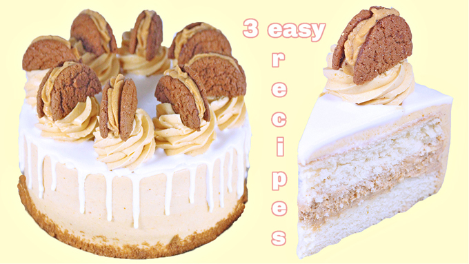 Pumpkin Mousse Layer Cake