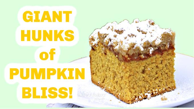 Pumpkin Coffeecake Buns