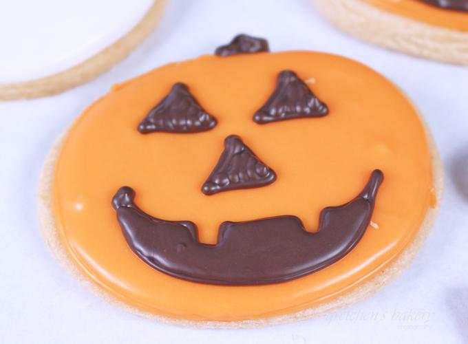 Vegan Halloween Sugar Cookies
